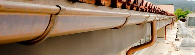 Seneca Creek MD Bronze Gutters