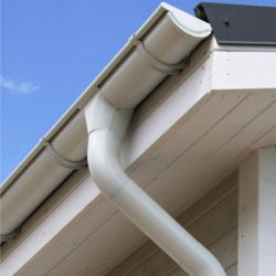Seneca Creek MD White Gutters